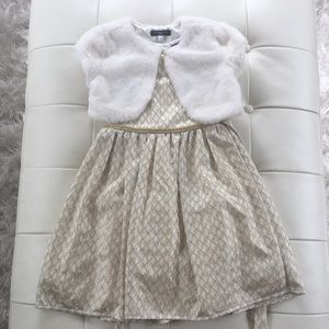 Girl's holiday dress